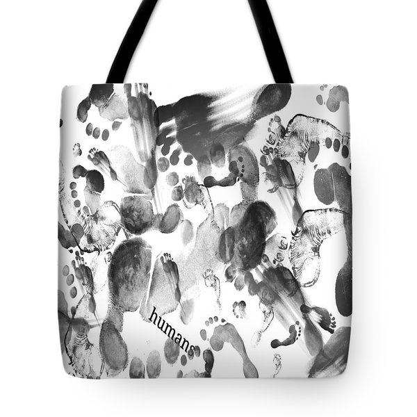Humans Tote Bag by Sladjana Lazarevic