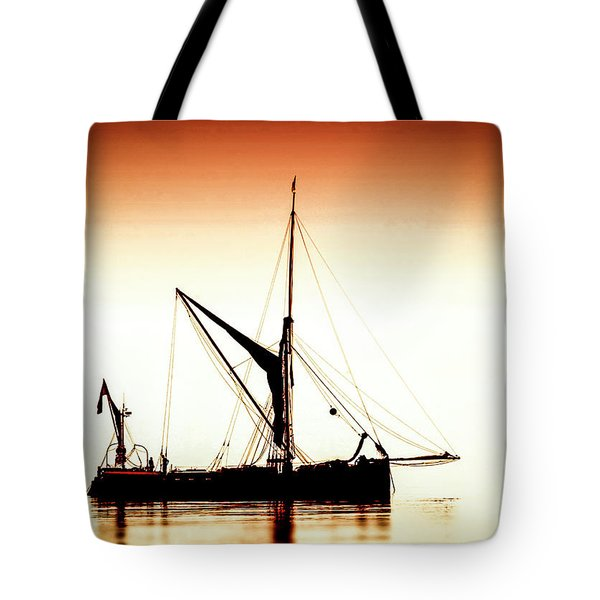Tote Bag featuring the photograph Humber Coble by Cliff Norton