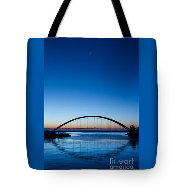 Humber River Dawn Tote Bag