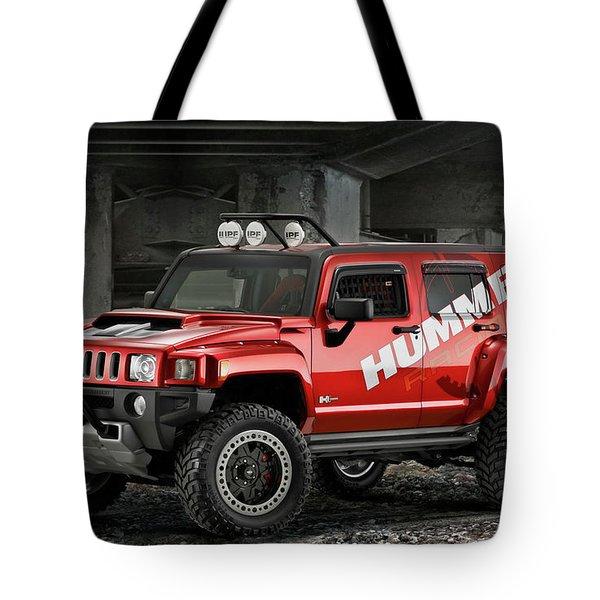 Hummer Tote Bag