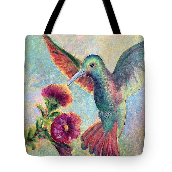 Humming Jewel Tote Bag