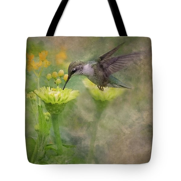 Hummingbird Art Tote Bag