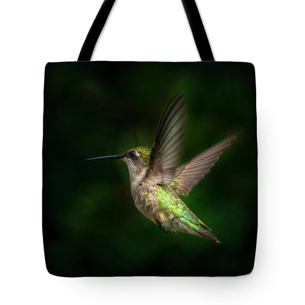 Hummingbird B Tote Bag