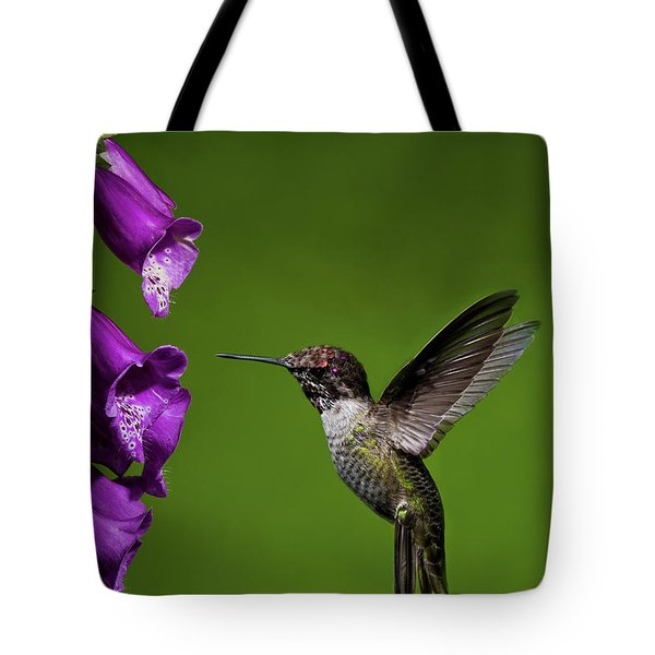 Hummingbird Ballet Tote Bag