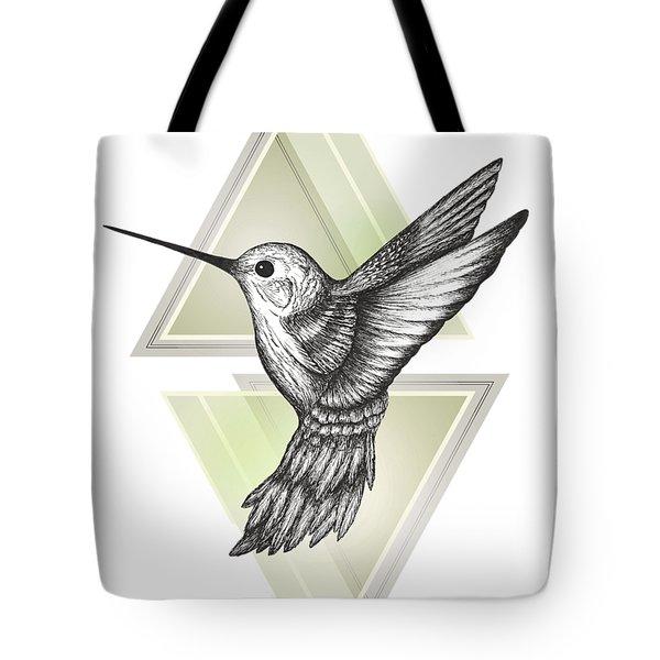 Hummingbird Tote Bag by Barlena