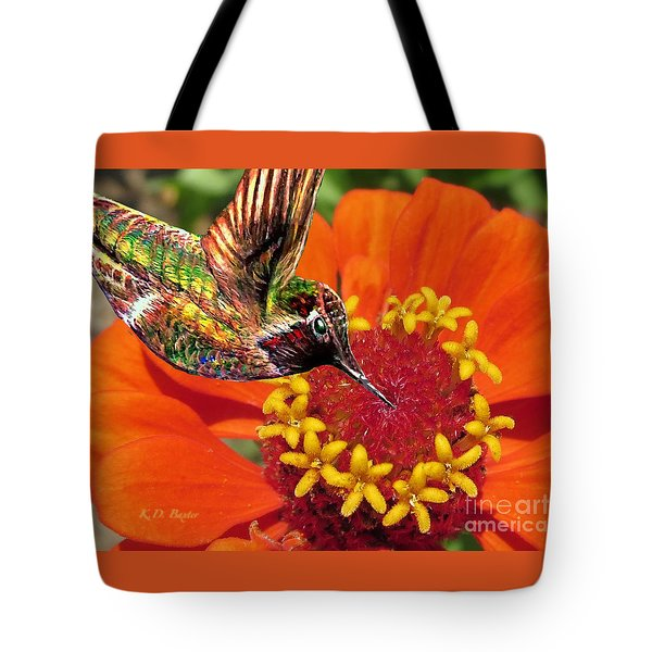 Hummingbird Delight Tote Bag