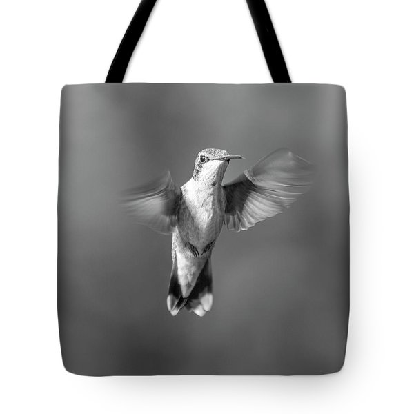 Hummingbird Flight Tote Bag