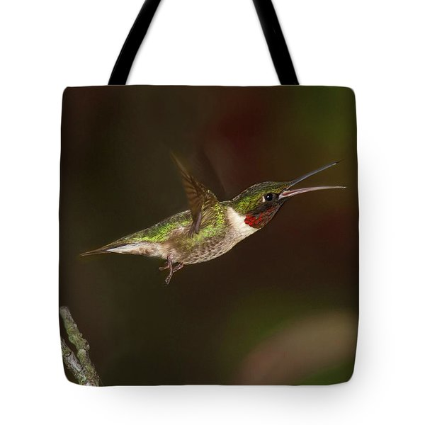 Hummingbird Hot Pursuit Tote Bag