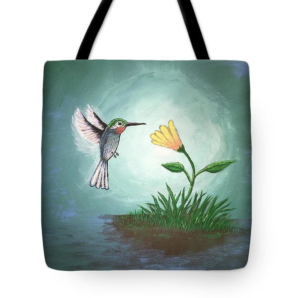 Hummingbird II Tote Bag