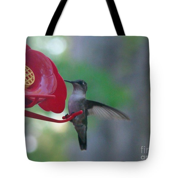 Tote Bag featuring the photograph Hummingbird  by Rand Herron