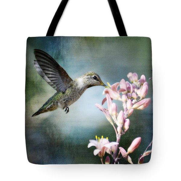 Hummingbird  Tote Bag by Saija  Lehtonen