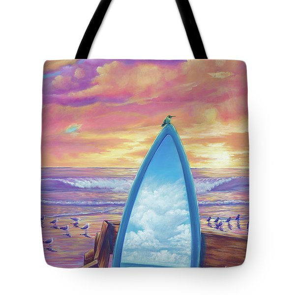 Hummingboard Tote Bag