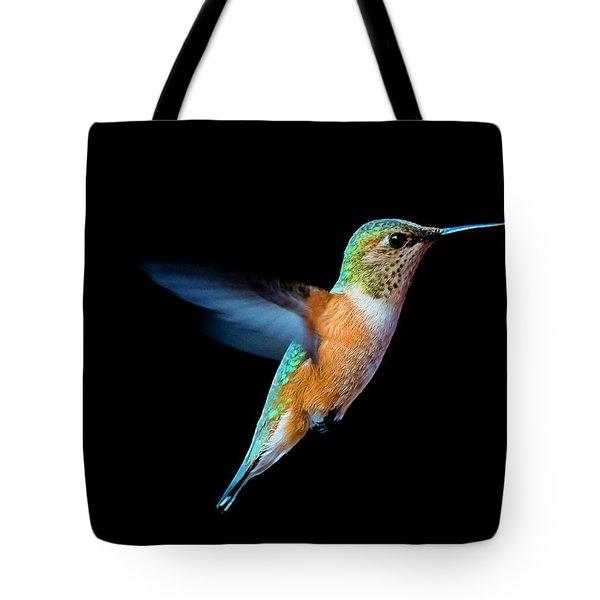 Hummming Bird Tote Bag