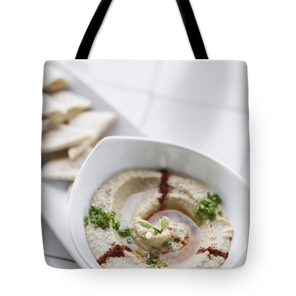Hummus Houmous Vegetarian Dip Snack Food Tote Bag