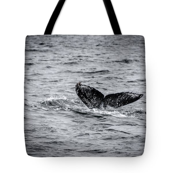 Humpback Whale Tail Tote Bag
