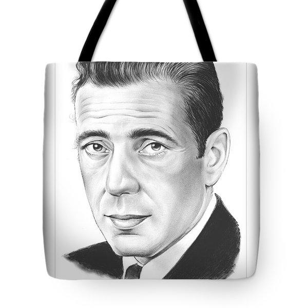 Humphrey Bogart Tote Bag
