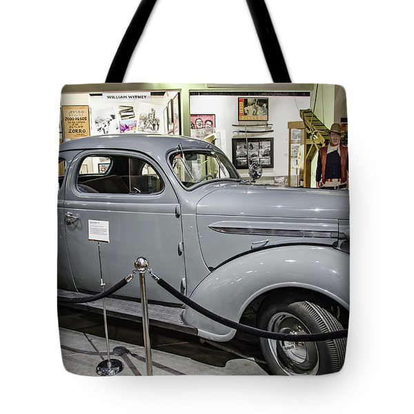 Humphrey Bogart High Sierra Car Tote Bag