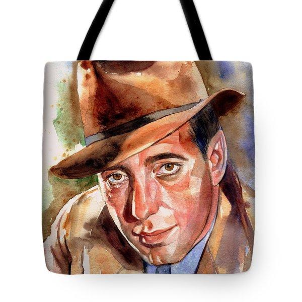 Humphrey Bogart Portrait Tote Bag