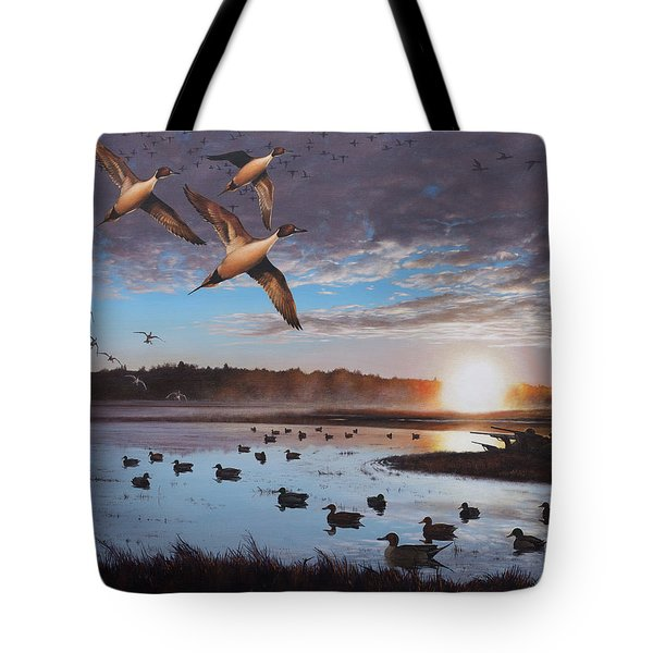 Humphrey Farm Pintails Tote Bag