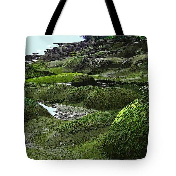 Humps And Bumps, Gabriola Shoreline Tote Bag