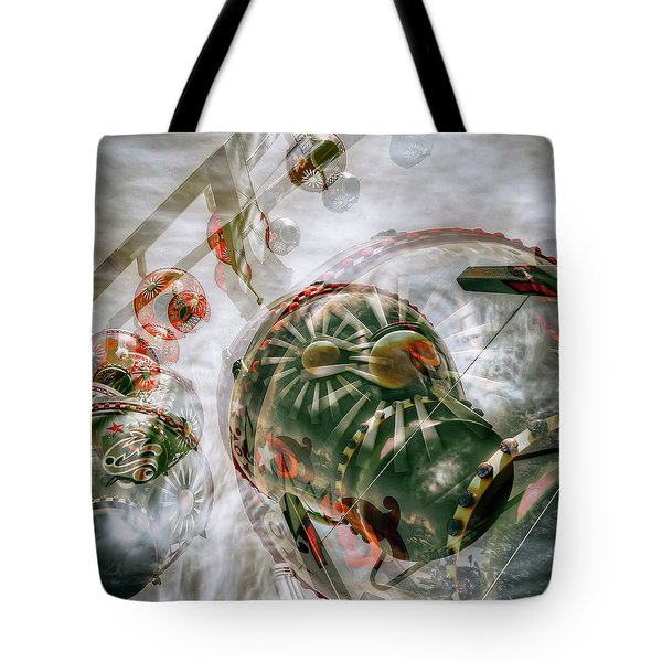 Tote Bag featuring the photograph Hung Up And Strung Out by Wayne Sherriff