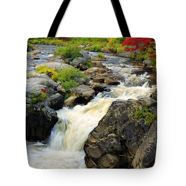 Hungary Trout Falls Tote Bag