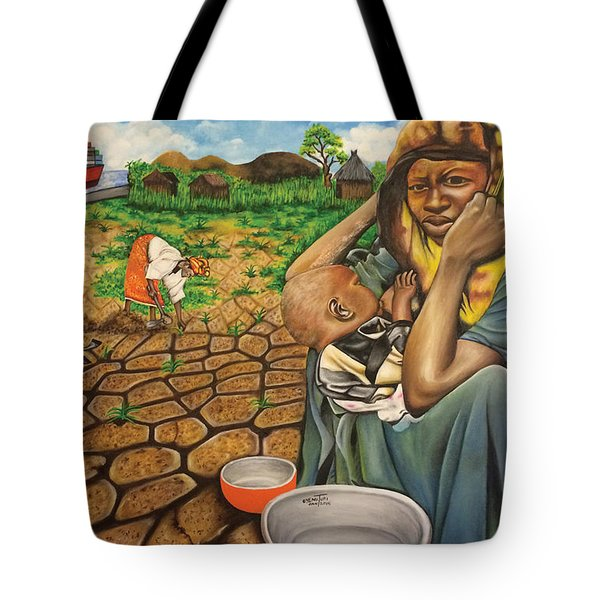 Hunger In The Land Of Plenty Tote Bag