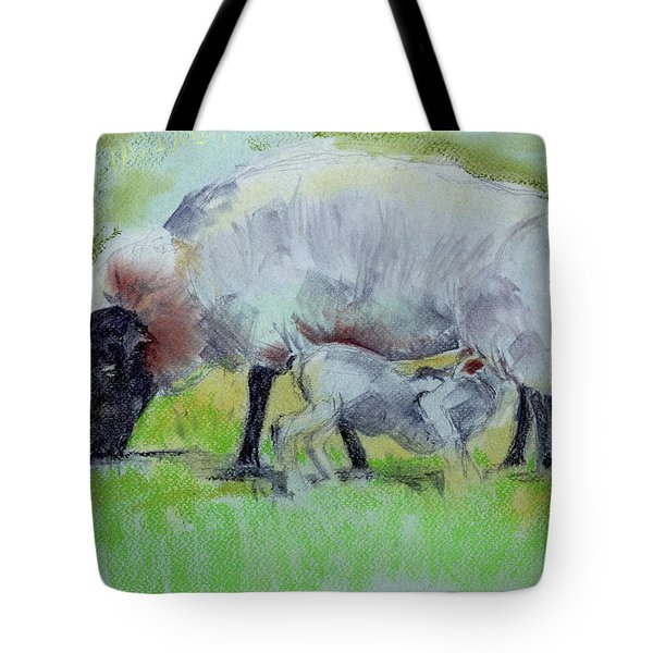 Hungry Lamb Tote Bag