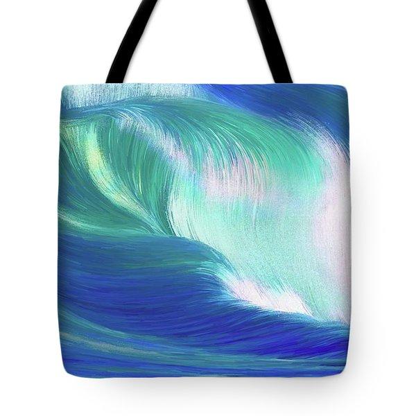 Hungry Ocean Tote Bag