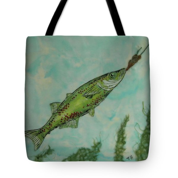 Hungry Tote Bag by Terry Honstead