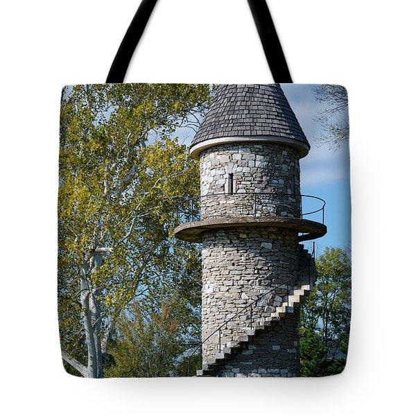 Hunt Club Watchtower Tote Bag