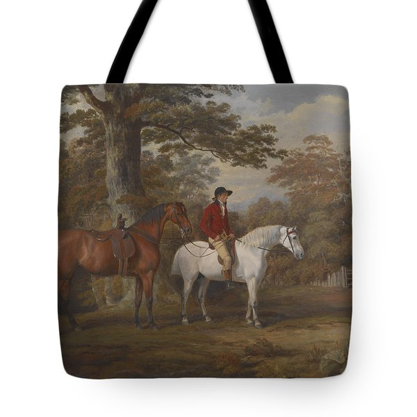 Hunter And Huntsman Tote Bag