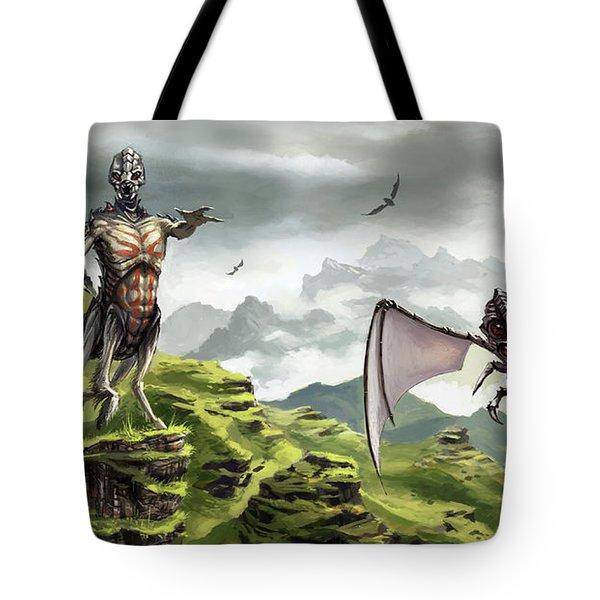 Hunter - Hound Tote Bag
