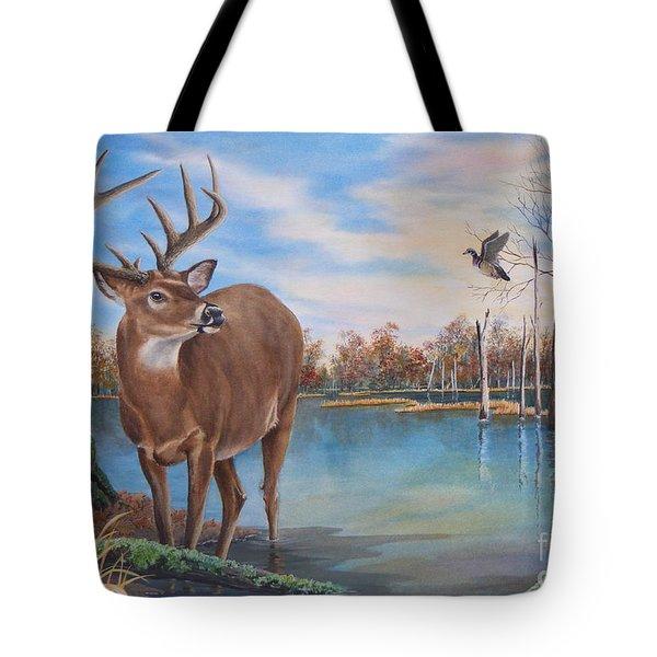 Hunters Dream Sold Tote Bag