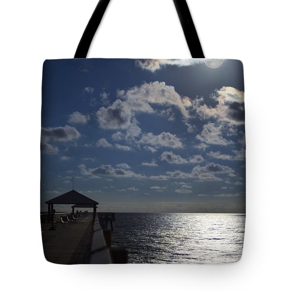 Tote Bag featuring the photograph Hunter's Moon by Laura Fasulo