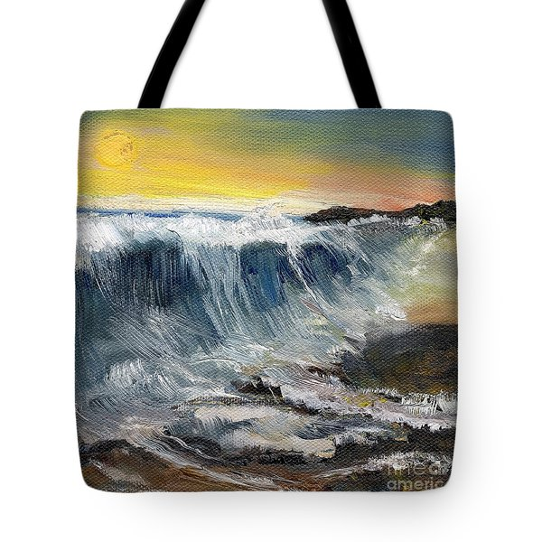 Hunter's Moon Tote Bag by Randy Sprout