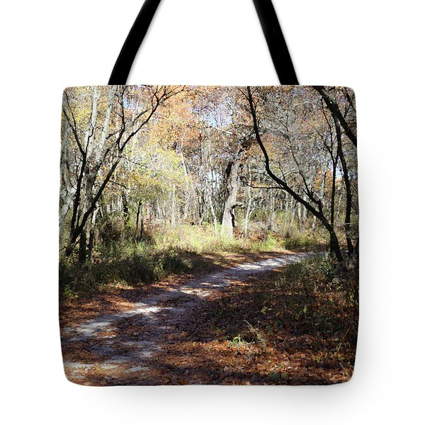 Hunter's Road Tote Bag by Scott Kingery