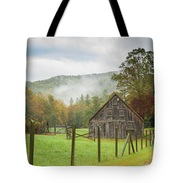 Hunting Cabin-3 Tote Bag