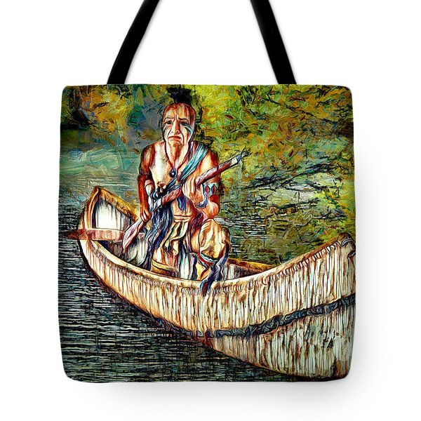 Tote Bag featuring the digital art Hunting For Food by Pennie McCracken