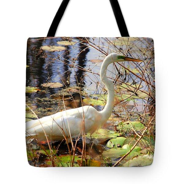 Hunting For Food Tote Bag by Susanne Van Hulst