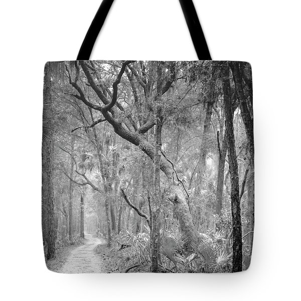 Hunting Island Path  Tote Bag by Phill Doherty