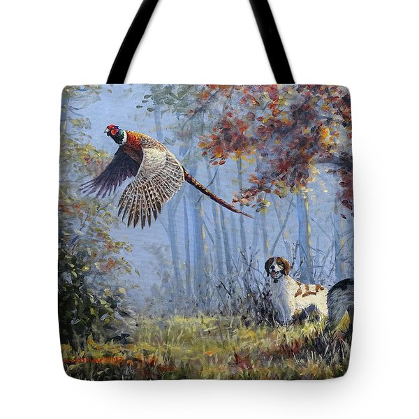 Hunting Stories Tote Bag