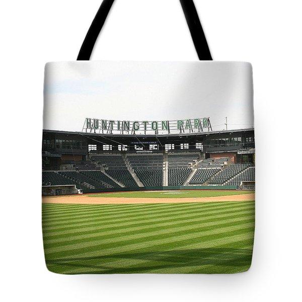 Huntington Park Baseball Field Tote Bag