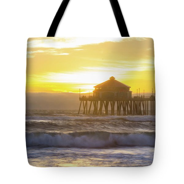Huntington Peir 2 Tote Bag