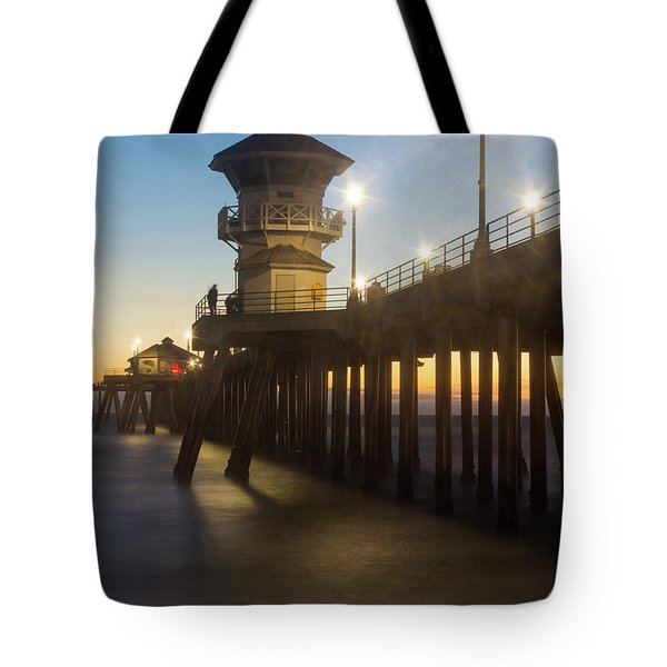 Huntington Peir  Tote Bag