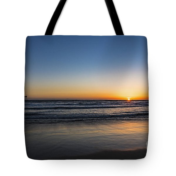 Tote Bag featuring the photograph Huntington Sunset by Anthony Baatz