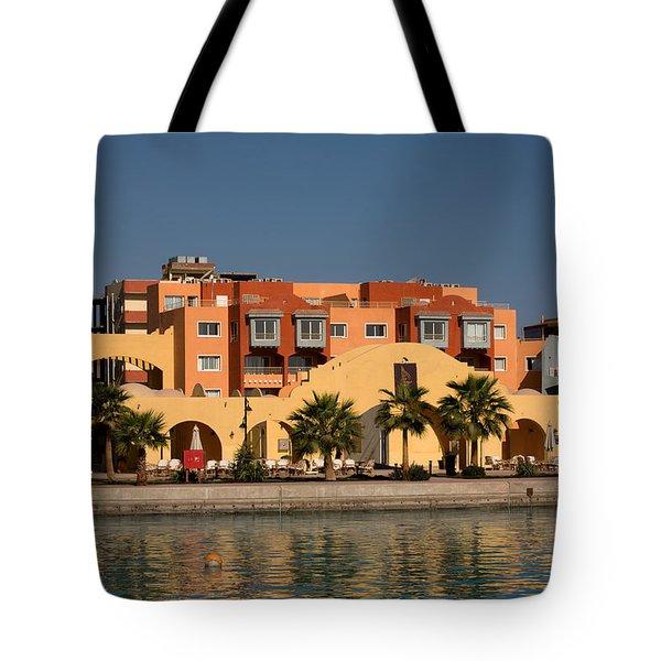 Hurghada Marina Tote Bag