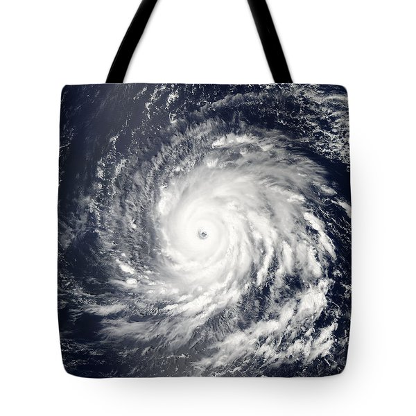 Hurricane Igor As A Strong Categry 4 Hurricane Tote Bag