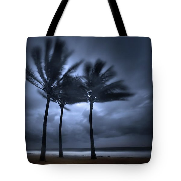 Hurricane Matthew Tote Bag by Mark Andrew Thomas