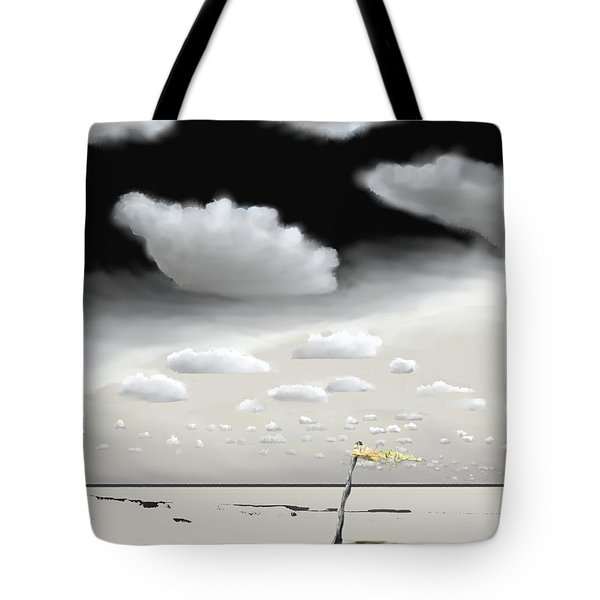 Hurricane Pass Us By Tote Bag by Kerry Beverly